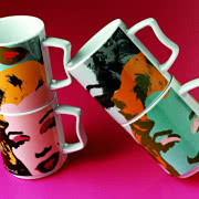 Kubek Elvis, Andy Warhol Collection, ROSENTHAL -...