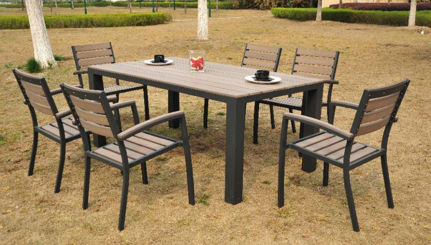 Nowoczesne Meble Ogrodowe Stół I Krzesła Czasnawnętrze