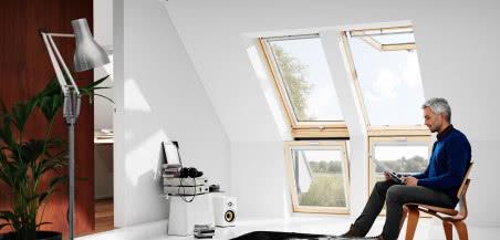 Zestawy okienne VELUX - teraz stać Cię na więcej światła