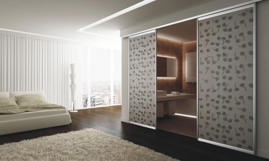 Przesuwne Drzwi Między łazienką I Sypialnią Czasnawnętrze
