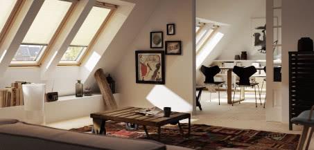 Drewniane okna dachowe VELUX GLL