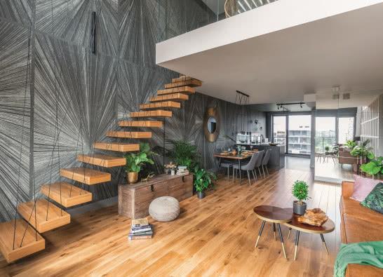 Miejskie tropiki - mieszkanie w trendzie urban jungle